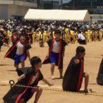子供の運動会を途中で抜けて大阪出張しています