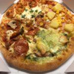 雨の日はピザのデリバリーが便利ですね!